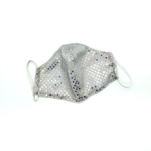 Sequin Adult Double Layered Face Mask 1 pc